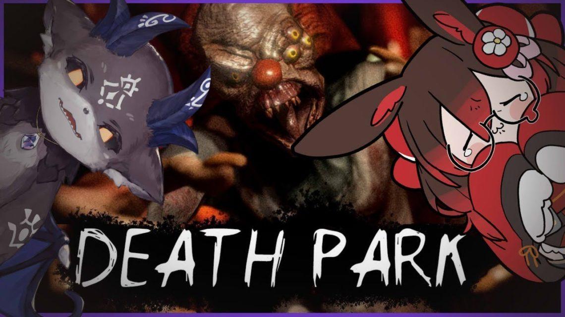 【DEATH PARK/ホラー】今度こそピエロの手から逃げ切ります。兎の背にコアラタッタッタッ【ホロライブ/ロボ子さん】