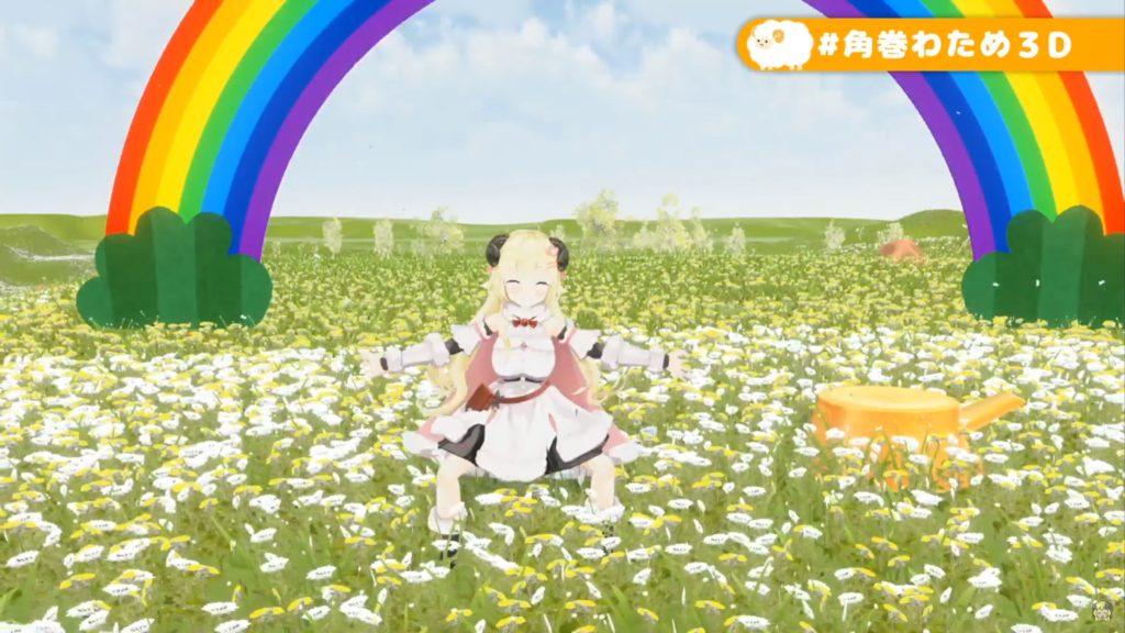 jijijyyyyyyyyyyy 【#角巻わため3D】角巻わため3Dお披露目!はじまるよ~!【#JointhefutureJP】