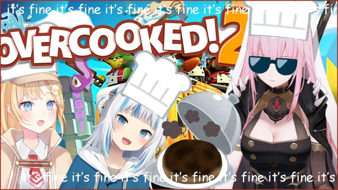 【OVERCOOKED2】We Are Master Chefs, it's fine, it's fine, it's fine #hololiveEnglish #holoMyth