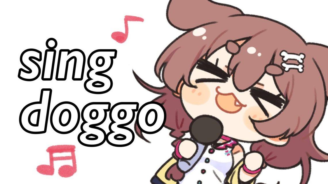 歌うよ~!
