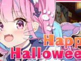 1031 【Minecraft】AKUKIN建設!ホロ鯖Halloween night!!【湊あくあ/ホロライブ】