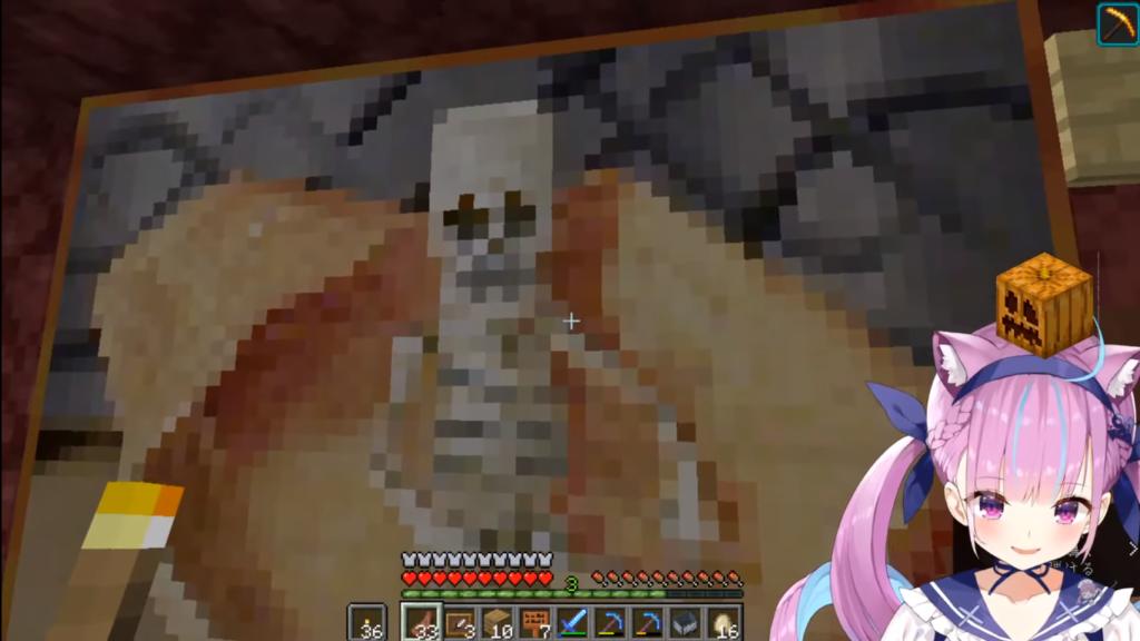 2020 12 22 38 1 【Minecraft】AKUKIN建設!ホロ鯖Halloween night!!【湊あくあ/ホロライブ】