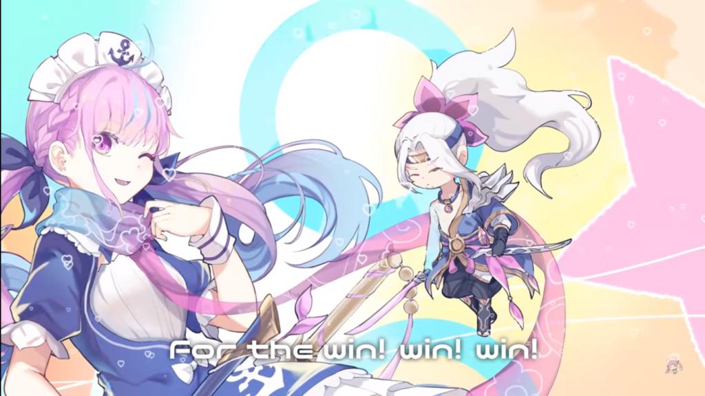 2020 12 22 77 1 Minato Aqua - For The Win 【湊あくあ/オリジナル曲】