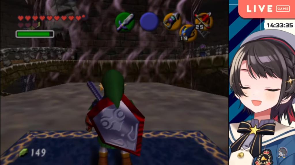 2020 12 28 30 1 【最終回】ガノンドロフ討伐!!!ゼルダの伝説時のオカリナ:The Legend of Zelda: Ocarina of Time【ホロライブ/大空スバル】