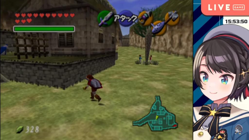 2020 12 28 34 【最終回】ガノンドロフ討伐!!!ゼルダの伝説時のオカリナ:The Legend of Zelda: Ocarina of Time【ホロライブ/大空スバル】