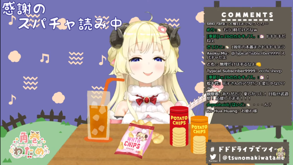 2020 12 29 15 1 【歌枠】第37回!わためぇ Night Fever!!【角巻わため/ホロライブ4期生】