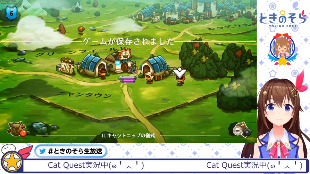39a5b165255862bde97606a32d45e0a4 【Cat Quest】猫が主人公のRPGがあった!【#ときのそら生放送】