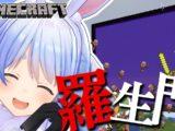 pekora1014 【minecraft】ホロ鯖!ゾンビピッグマンの雨を降らせるぺこ!【ホロライブ/兎田ぺこら】