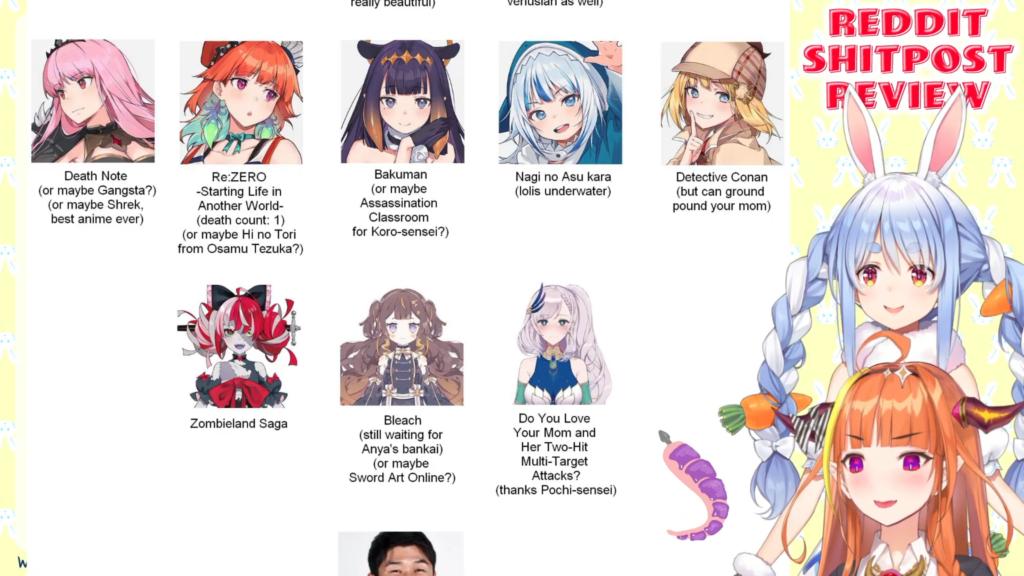 0a54b7f010388a860b08d02929f7e7c6 Reddit Shitpost Review with Pekora senpai! ホロライブ/桐生ココ/兎田ぺこら