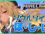 【マインクラフト/Minecraft】新ネザーの素材集めI want to collect new nether materials【ホロライブ/不知火フレア】