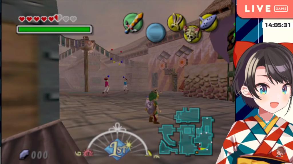2021 02 01 【#9】最難関?!ロックビル!!!:The Legend of Zelda: Majora's Mask【ホロライブ/大空スバル】