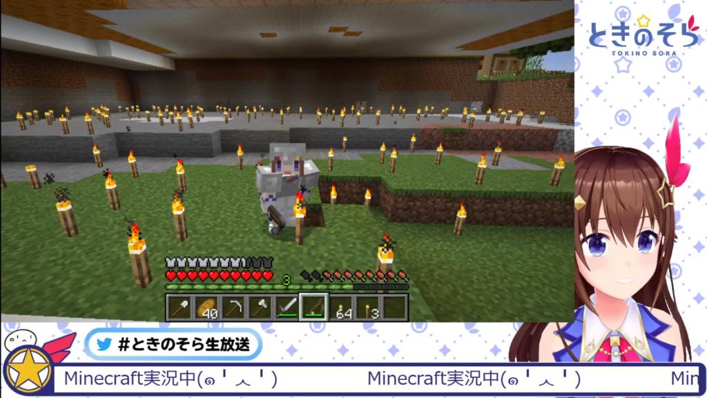 2021 02 27 103 【Minecraft】ペットがもっと欲しい計画!!【#ときのそら生放送】