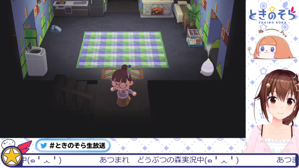 127fce10da00a0193addd22e49eaf394 【あつ森】マリオの家具がきたよ!!【#ときのそら生放送】