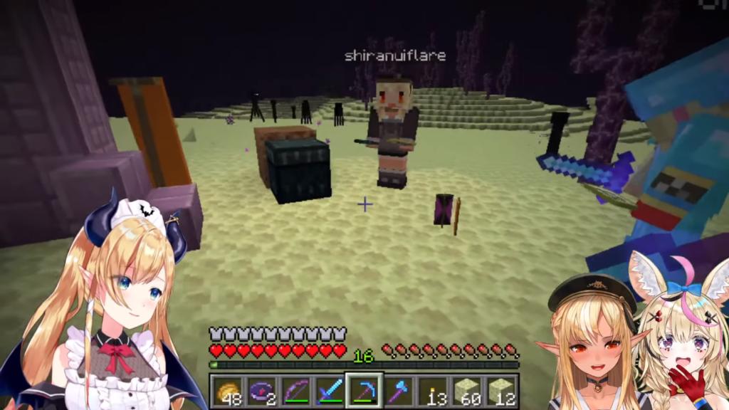 145459f7a950cb4182760c7f66e5ce20 【Minecraft】ちょこフレポルでシェルカーとりたいの!【ホロライブ/癒月ちょこ】
