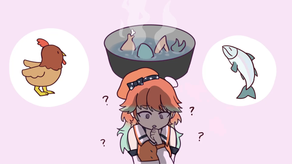 c46f7e66b7bf1dfae224d6060a4231f6 【Hololive Animated Clip】 Kiara Suffers through Haachama's Cooking 【ホロライブ/手描き切り抜き漫画】