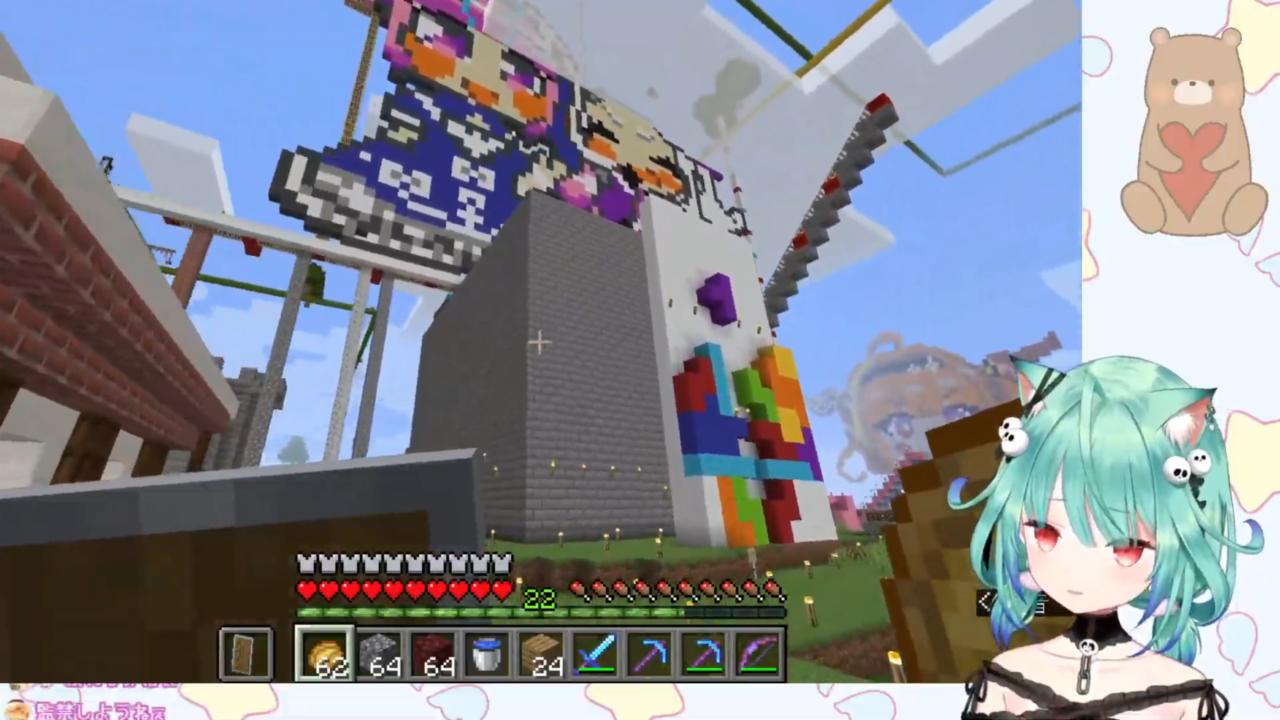 a0f5b8dce4dcc820fdee43eb4437f02a 【Minecraft】貸し切り遊園地でるしあちゃんの絶叫&雄叫びを楽しむ枠【潤羽るしあ/ホロライブ】