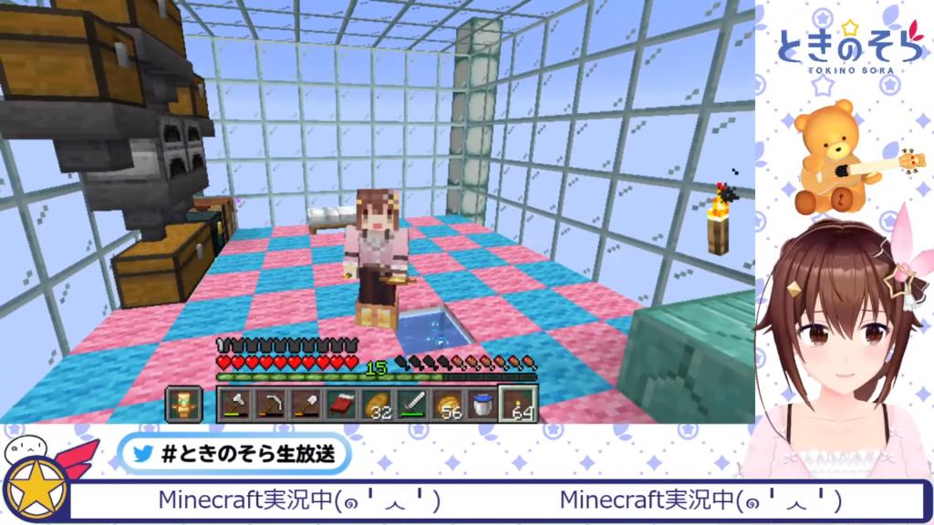 fe07e6aeaaa91b791bbe060e312db30e 【Minecraft】シーランタン歌枠【#ときのそら生放送】