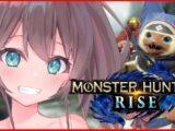 【 MONSTER HUNTER RISE 】初心者ハンター2日目!一気に進めるぞ!【ホロライブ/夏色まつり】