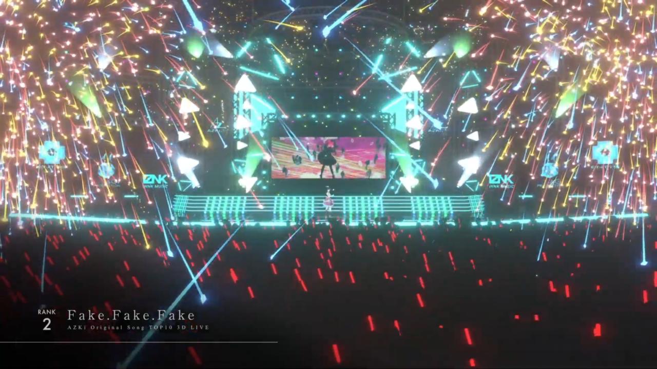 0264a746e4c22b74e289c467d9ee30d5 【3D LIVE】AZKiのオリジナル曲サブスク再生数ランキングTOP10ライブ!!【 #AZKi生放送 】