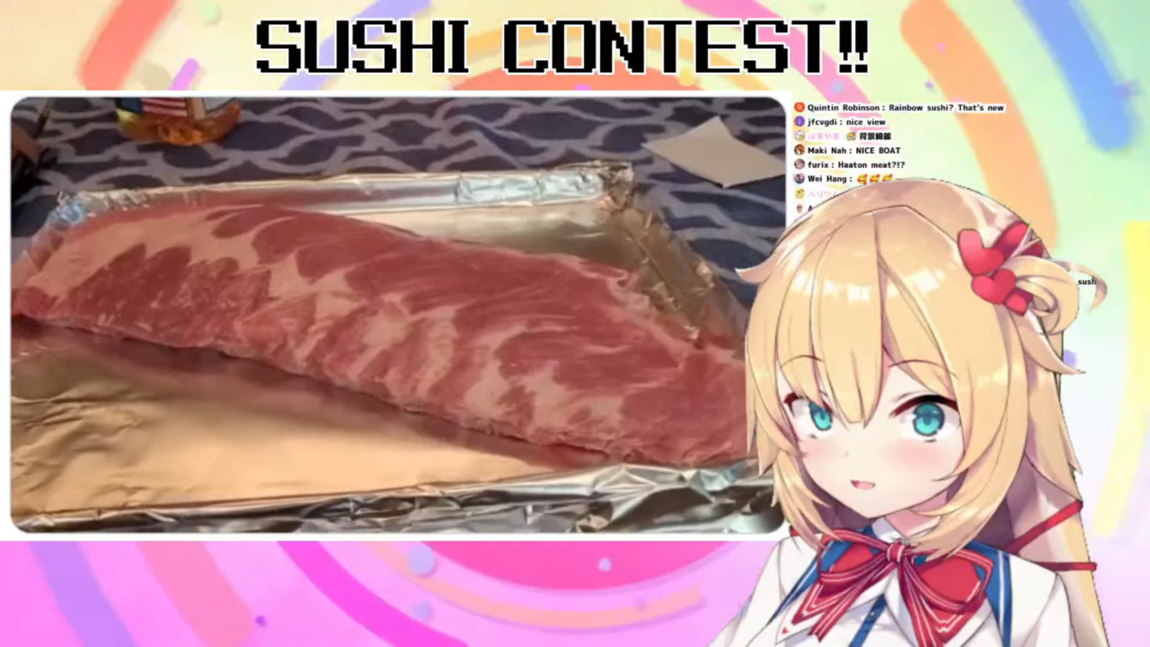 0527ae53057cd9e2602c003074675ca5 COOKING CONTEST!! はあちゃま寿司を超える!?オリジナル寿司を募集した結果・・・激YABEな結果に!?