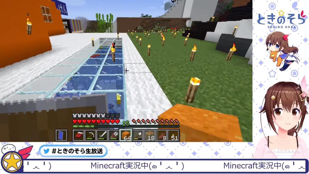 2918c582059032c80d5c667e538a9a88 【Minecraft】我が家の地下カオスなのでは?【#ときのそら生放送】