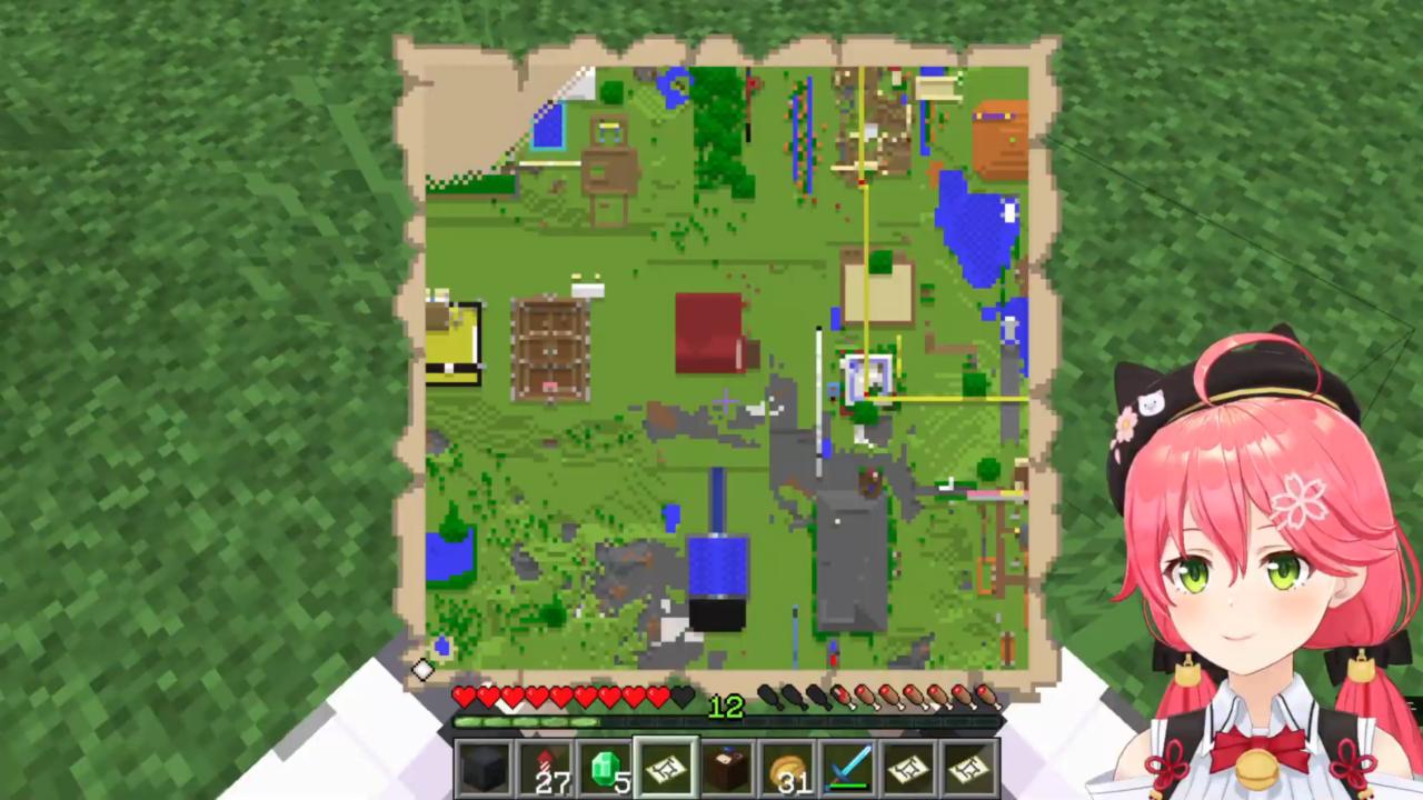5fb1234a0b2fc76d477843a501c0cf4a 【 Minecraft 】ホロ鯖のMAP作りやったにぇ!【ホロライブ/さくらみこ】