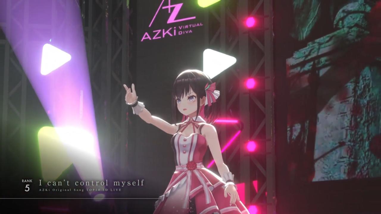6a7ec0a93371e8165d9c516a441e5b2d 【3D LIVE】AZKiのオリジナル曲サブスク再生数ランキングTOP10ライブ!!【 #AZKi生放送 】