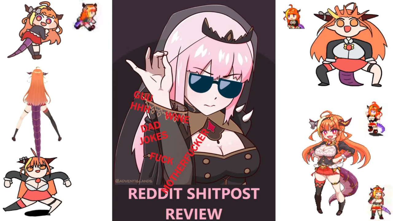 6ae8944ce0a2583998183ec091af1d69 REDDIT SHITPOST REVIEW with Calli