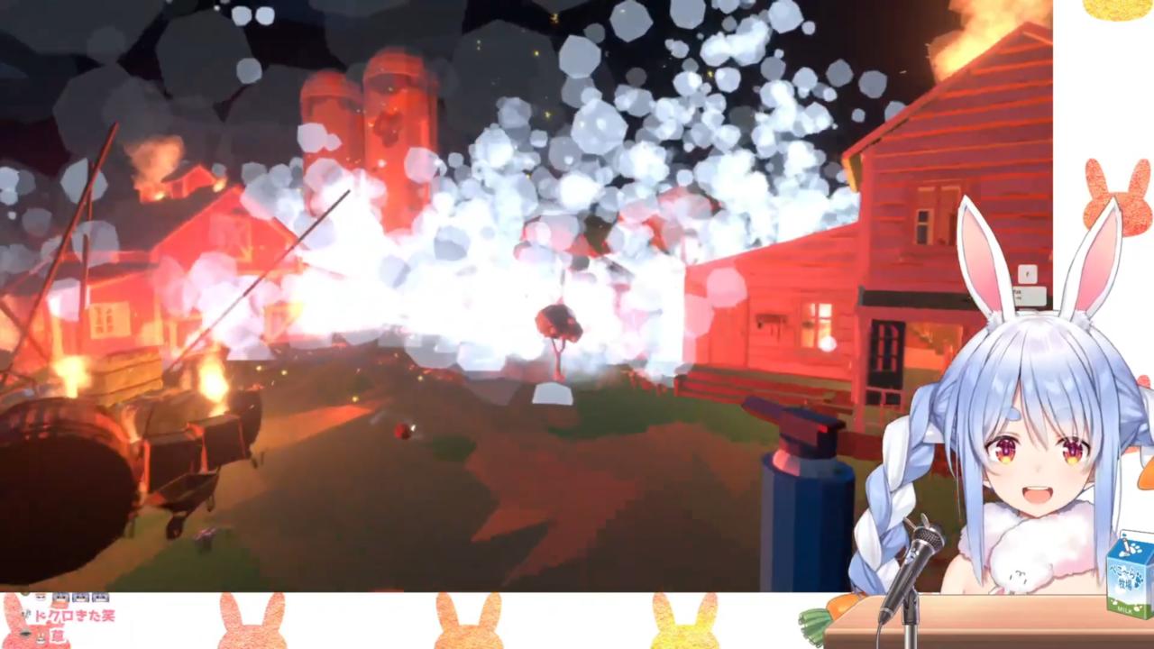 a60818e8df8932d02acfb61ca22bdb6a 【Fireworks Mania】大花火を打ち上げたる!!!!ぺこ!【ホロライブ/兎田ぺこら】