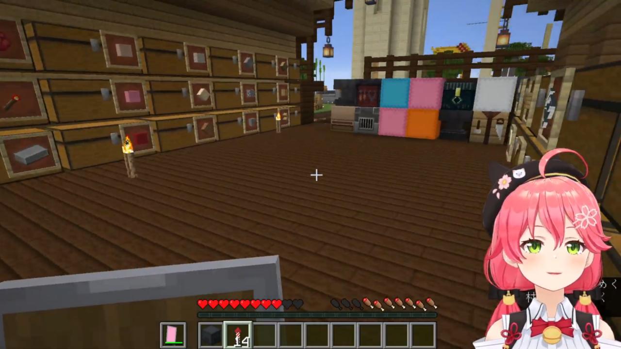 c2ed4a52583b4ec63a4a94a2851b3539 【 Minecraft 】ホロ鯖のMAP作りやったにぇ!【ホロライブ/さくらみこ】