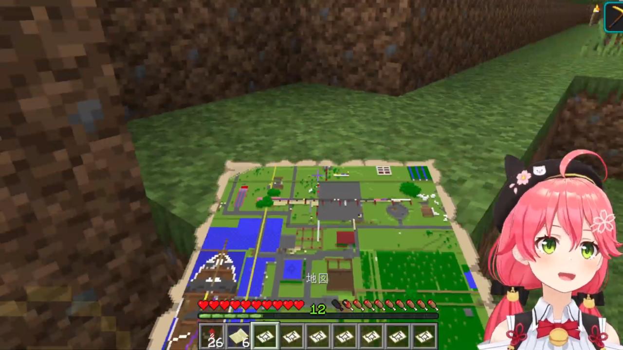 e49897b9ef654382db4fcafb202c1c64 【 Minecraft 】ホロ鯖のMAP作りやったにぇ!【ホロライブ/さくらみこ】