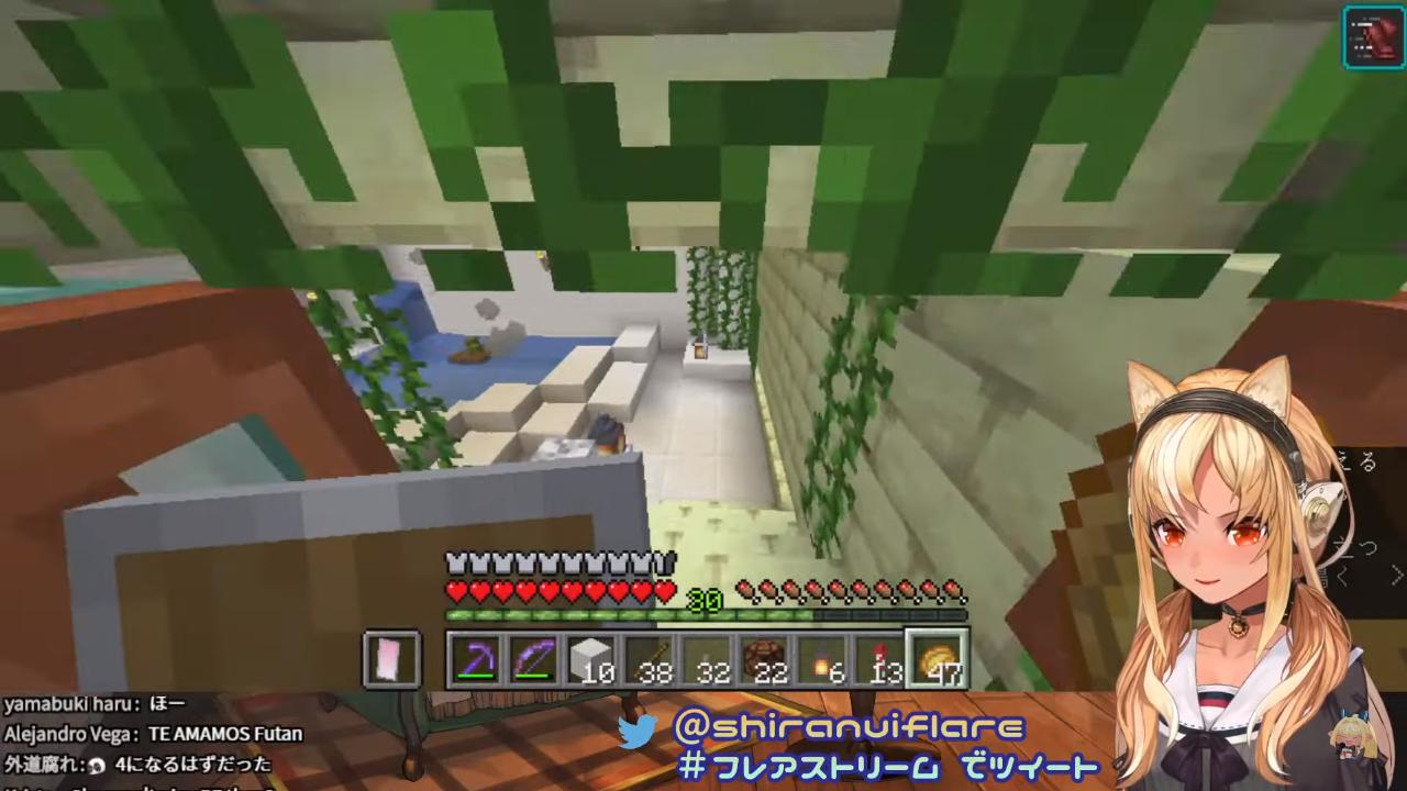 ebddb2655cf0b5276c969cd62ec0870c 【マインクラフト/Minecraft】ホロ鯖ネザーゲート付近を建築!【不知火フレア/ホロライブ】