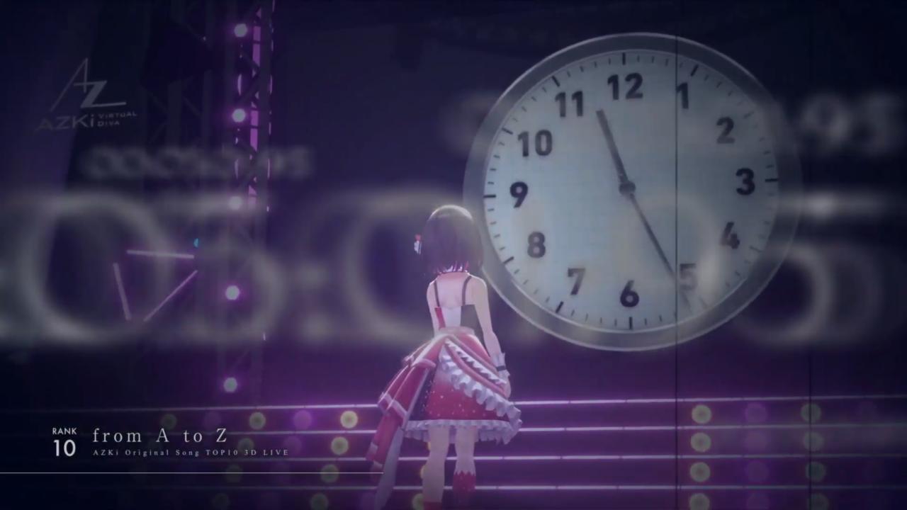 f2e7b51cb25867f21397ae1ca5c071c1 【3D LIVE】AZKiのオリジナル曲サブスク再生数ランキングTOP10ライブ!!【 #AZKi生放送 】