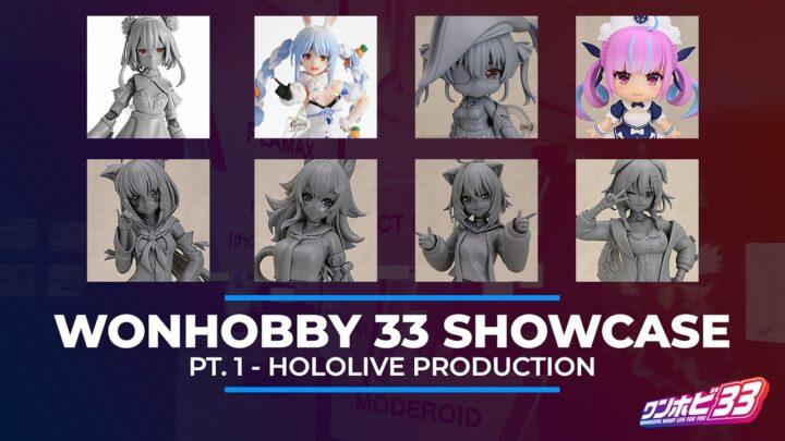New HOLOLIVE Figures! | WonHobby 33 Showcase Part 1
