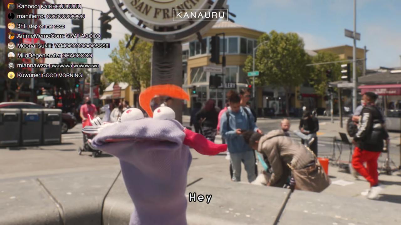 289c074776e46c890b71e18e9c9a8cb0 Muppet Coco Helps Tourist Miko Find Statue of Liberty in San Francisco「 Sakura Miko 」 実写版ココ会長とエリートみこちの英会話!!