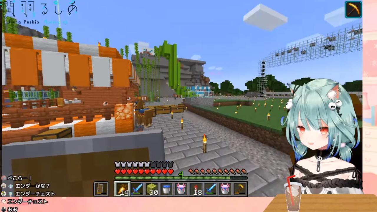 5441c546aeed676b3ad46af9605cbc62 【Minecraft】ウーパールーパー投入!?初海底神殿!!攻略する!;;【潤羽るしあ/ホロライブ】