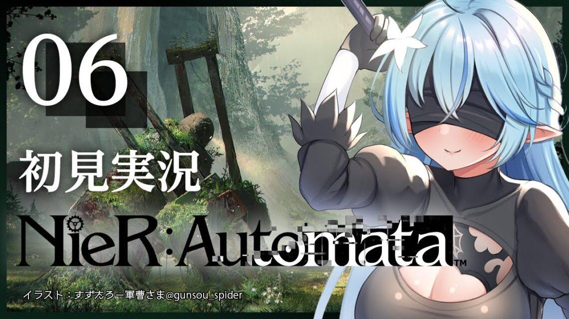 【ニーアオートマタ:NieR:Automata】3週目(Cルート)やっていくよ~!!(※ネタバレあり)【雪花ラミィ/ホロライブ】