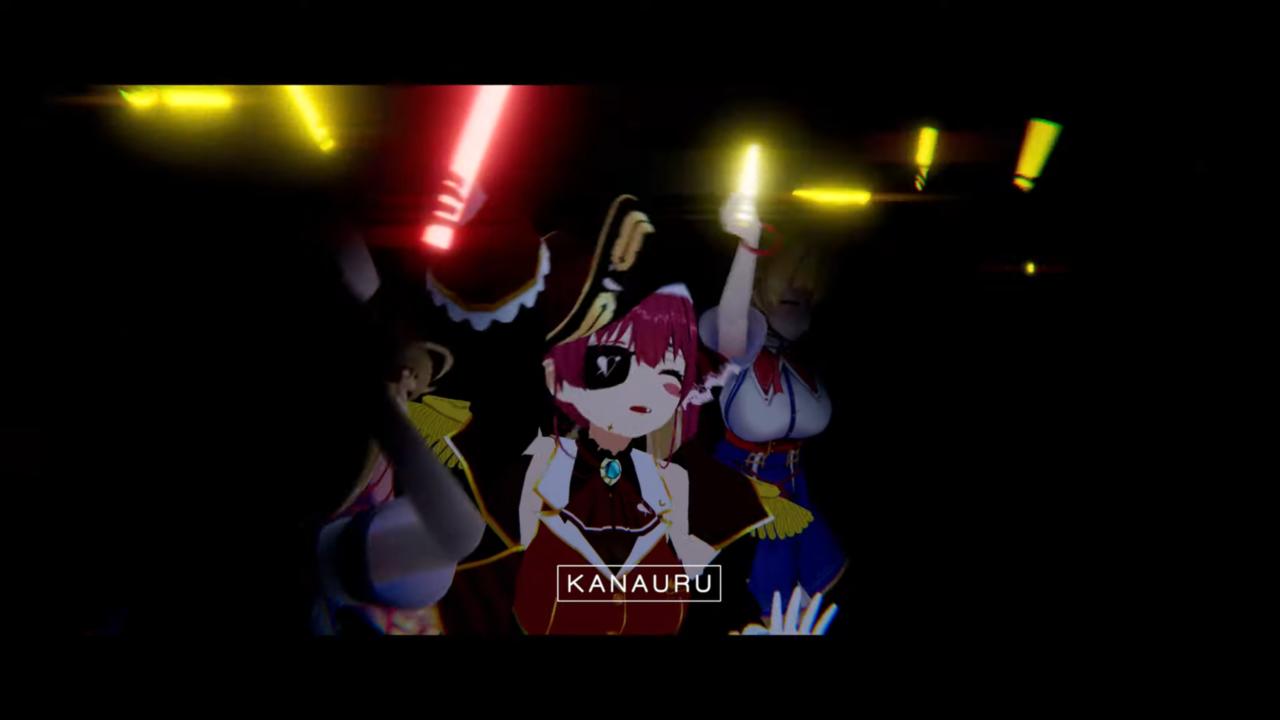 0ee240574e8ce6a47d8c9081bc8a4b2b MV | Amane Kanata - SORAN BUSHI Remix 「 Kanauru Music Video 」かなたそソーラン節の単独3Dライブを成功させてしまう!?
