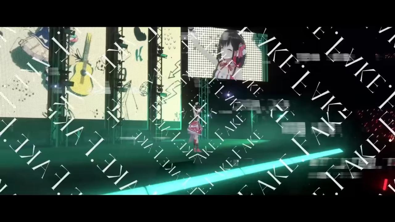 1bcacc7369c280c722e992b4eb234e78 AZKi - 【3D LIVE】SPECiAL LiVE -NON FiCTiON- 【youtube music weekend】