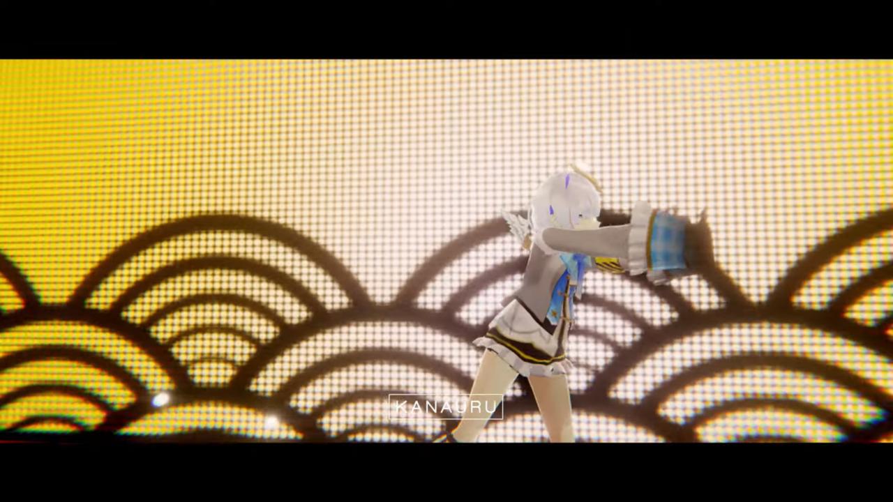 33dd08773c863f8f4956aecb9a0d0c3f MV | Amane Kanata - SORAN BUSHI Remix 「 Kanauru Music Video 」かなたそソーラン節の単独3Dライブを成功させてしまう!?