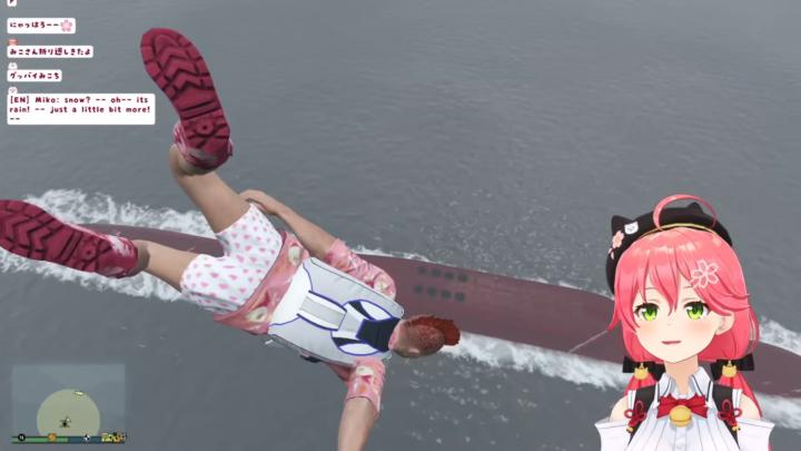 【 GTA5 】緊張の夏!日本の夏!南国の島の新ミッション!!でピンクの悪魔が暴れるにぇ!🌴😎【ホロライブ/さくらみこ】