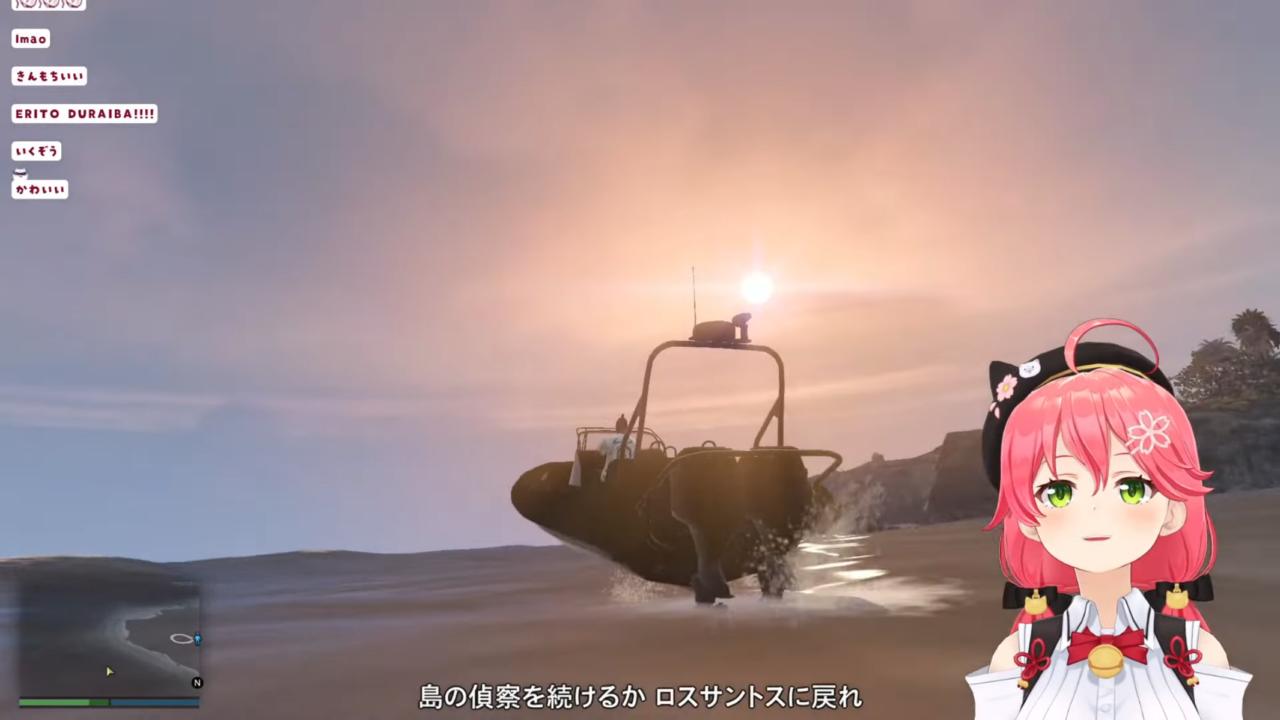 7f7935fd9e6db5733dacb619159b4d4a 【 GTA5 】緊張の夏!日本の夏!南国の島の新ミッション!!でピンクの悪魔が暴れるにぇ!🌴😎【ホロライブ/さくらみこ】
