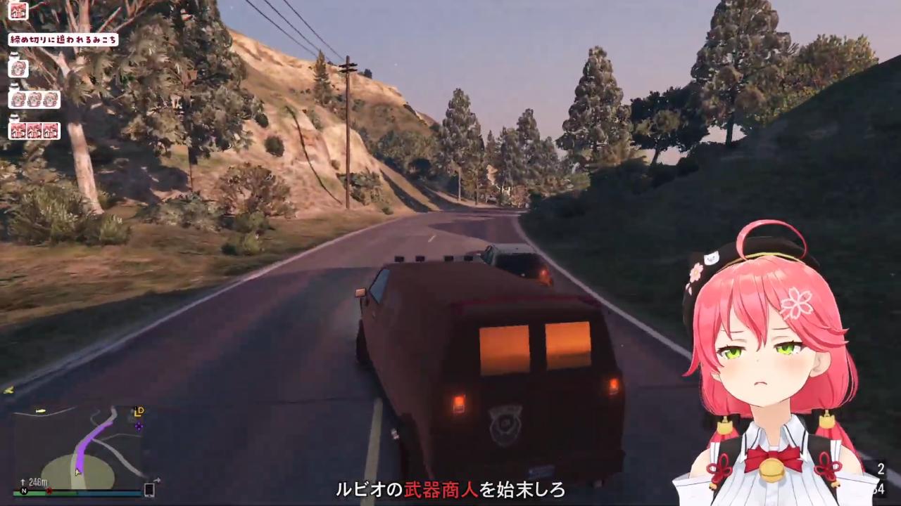 ae8338d57f223ba44962733e413ebc3c 【 GTA5 】緊張の夏!日本の夏!南国の島の新ミッション!!でピンクの悪魔が暴れるにぇ!🌴😎【ホロライブ/さくらみこ】