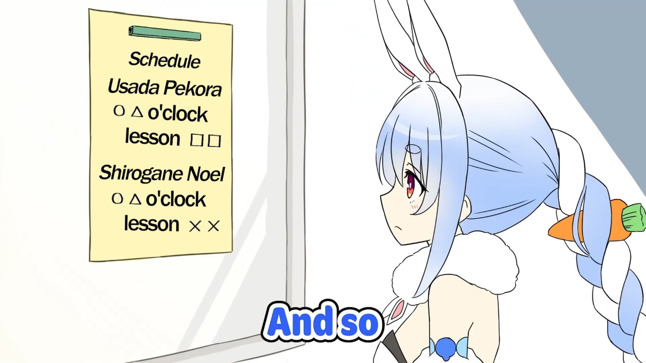 ca5f0c884e62b8519df1800ab61ad52d Goofy Noel went back for wallet and came back with phone【Hololive Animation/Eng sub】