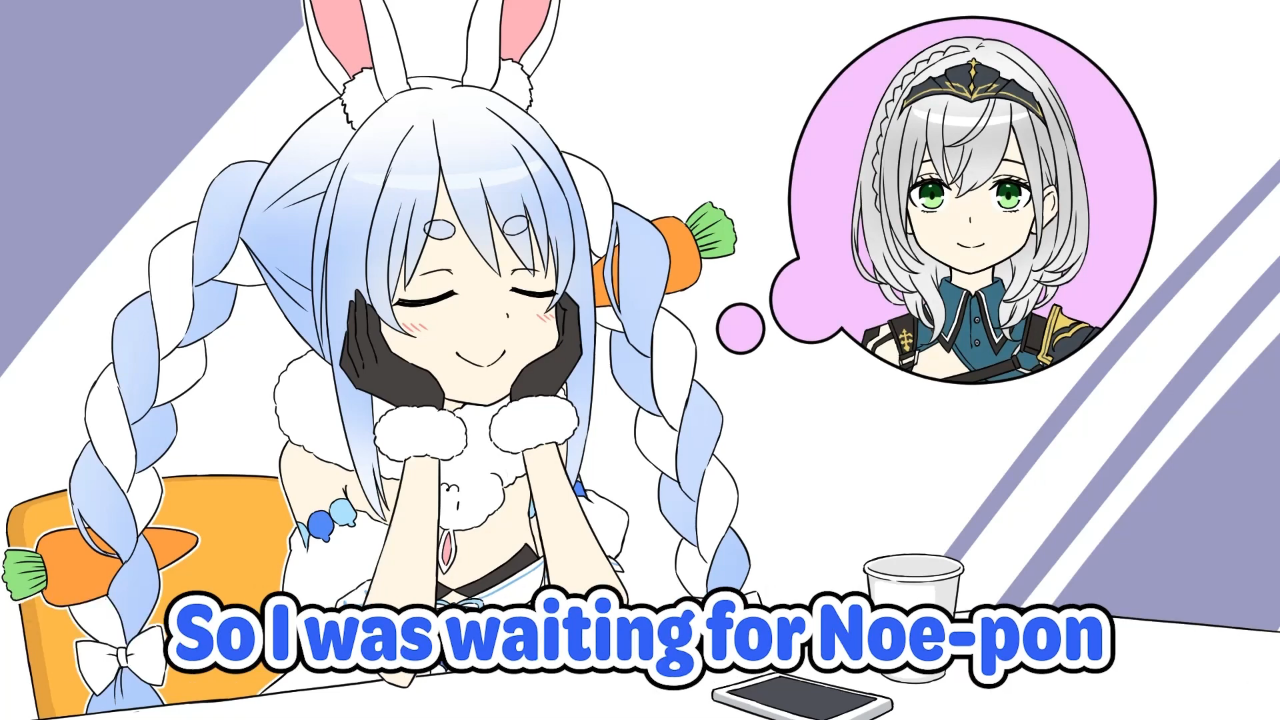 cd21681f22f2c1f22a8c6560e91d0cfe Goofy Noel went back for wallet and came back with phone【Hololive Animation/Eng sub】