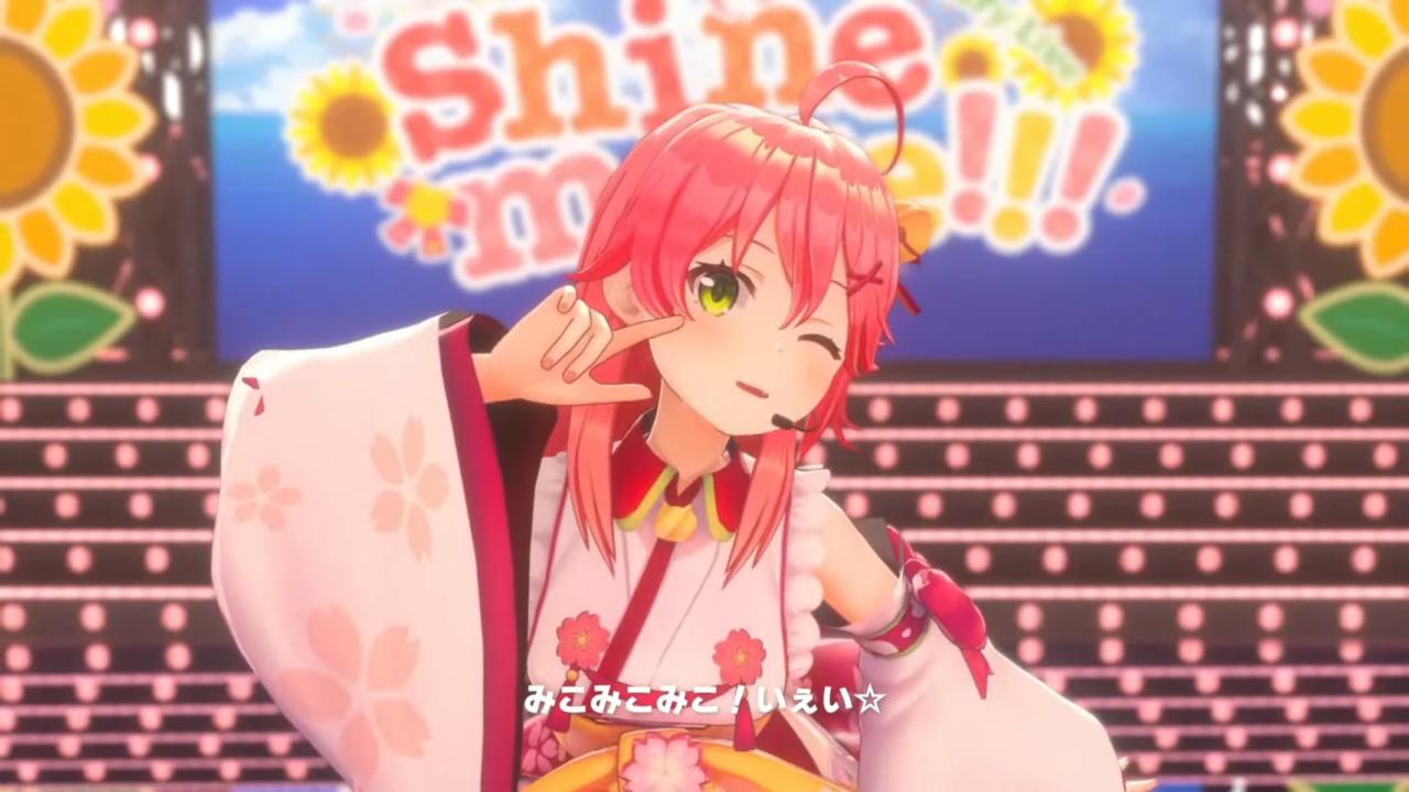 04cca34f4818669ea48cde9d5cf0b995 【 3DLIVE 】3rd Anniversary LIVE Shine more!!! 【#さくらみこ3周年LIVE】