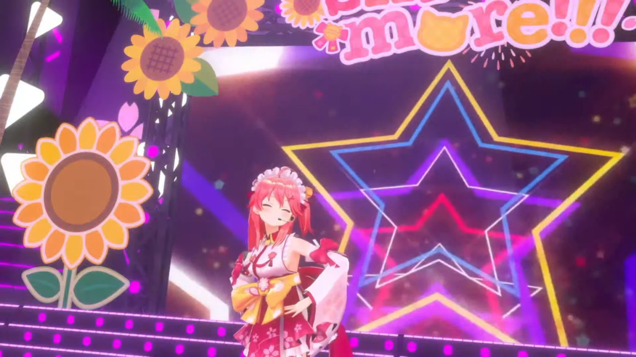 2b9462ede31c6e3c346221efcd7761c8 【 3DLIVE 】3rd Anniversary LIVE Shine more!!! 【#さくらみこ3周年LIVE】