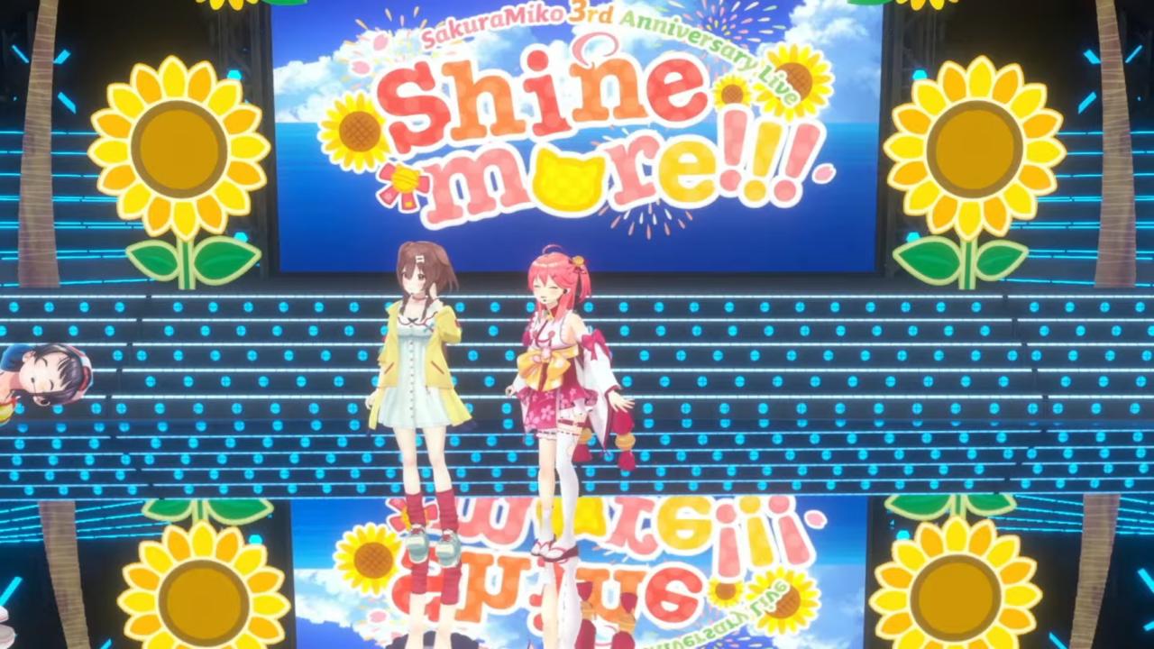 3fc049128d66e98f0fef27ffad32bce9 【 3DLIVE 】3rd Anniversary LIVE Shine more!!! 【#さくらみこ3周年LIVE】