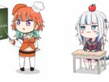 【手描き】キアラのパーフェクト日本語教室【小鳥遊キアラ/がうるぐら】Kiara's Perfect Japanese Lesson
