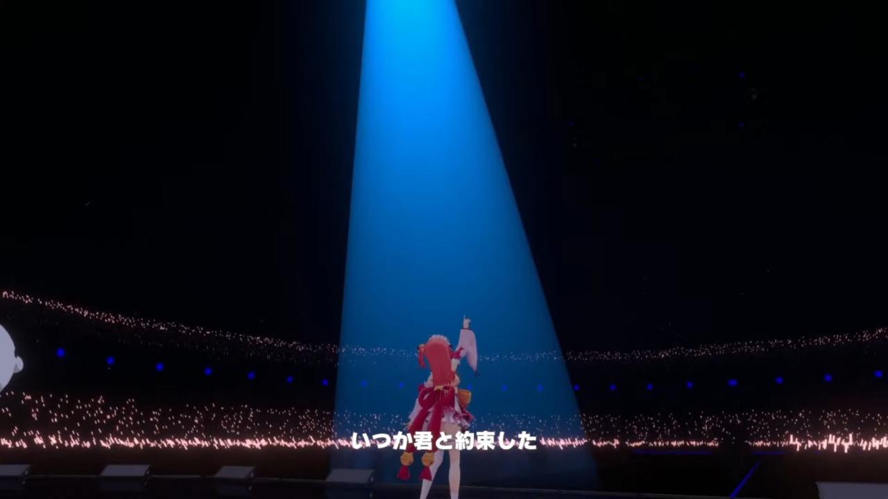 42876149beb09e7acc13029133a3ba14 【 3DLIVE 】3rd Anniversary LIVE Shine more!!! 【#さくらみこ3周年LIVE】